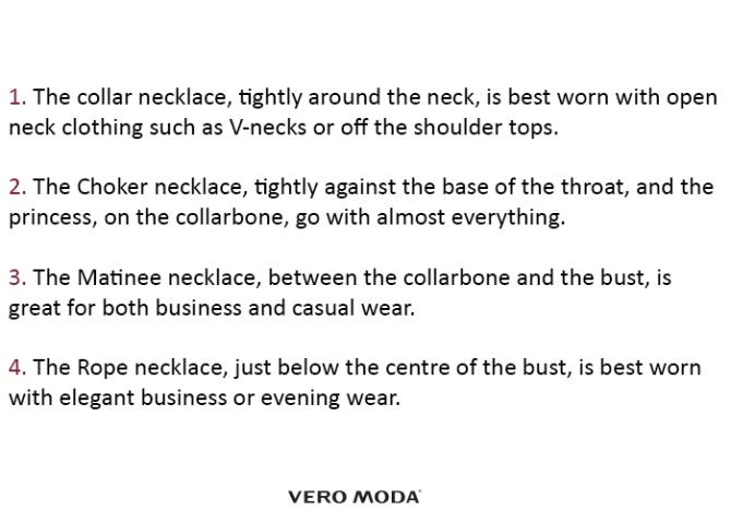 Necklace Steps