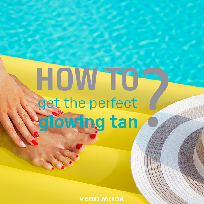 How to get the suntan perfect photo