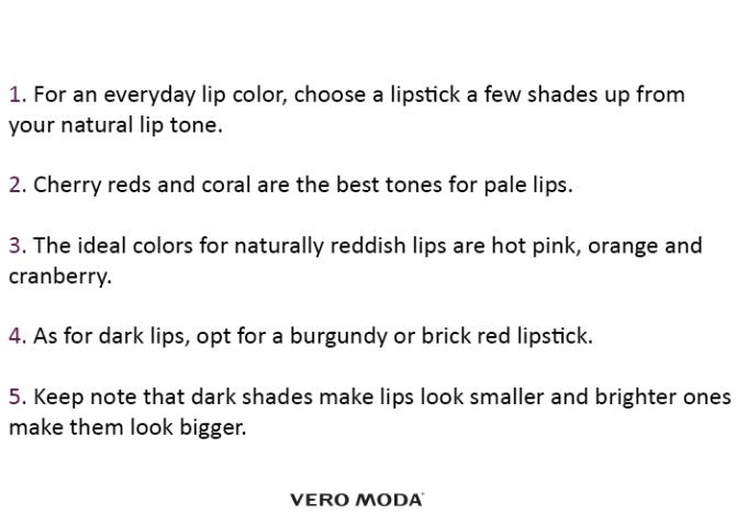 Lipstick Steps
