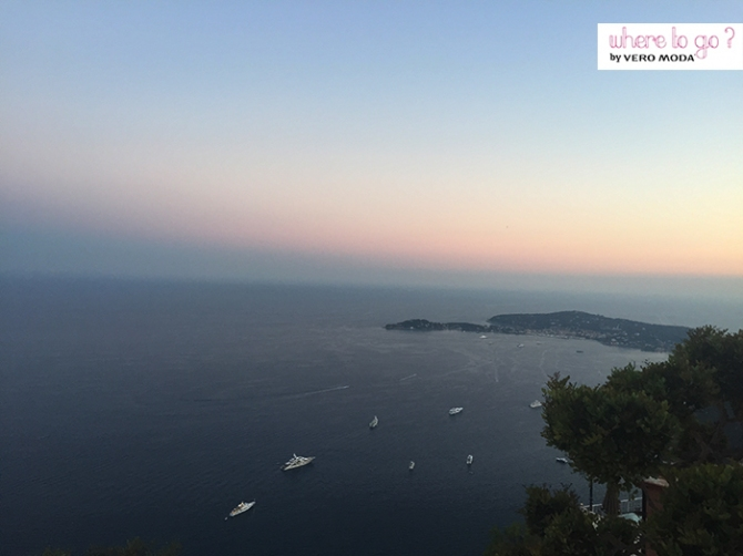 View from Eze, Provence France